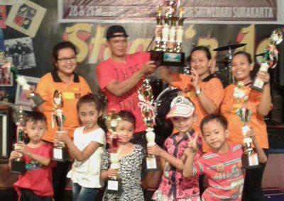 Juara 1 Lomba Drum Band TK Tingkat Karesidenan