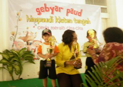 KB Krista Ceria Meraih juara 1 Lomba Puzzle tingkat Kecamatan