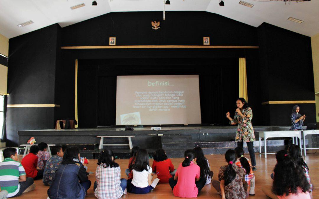 Dokter Kecil SD Kristen 3 Klaten Mendapat Penyuluhan Penyakit Demam Berdarah