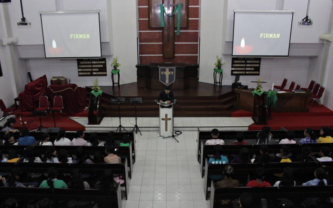Bidston Sekolah SD Kristen 3 Klaten dan SMP Kristen 1 Klaten