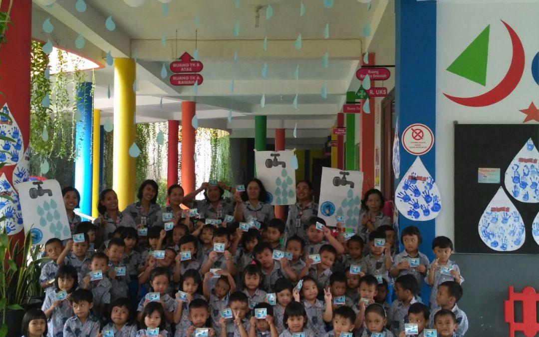 TK Kristen Kridawita Memperingati Hari Air Sedunia