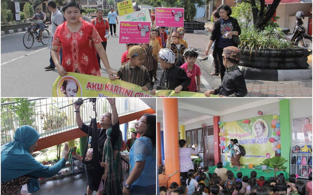 Peringatan Hari Kartini di KB Krista Ceria dan TK Kridawita