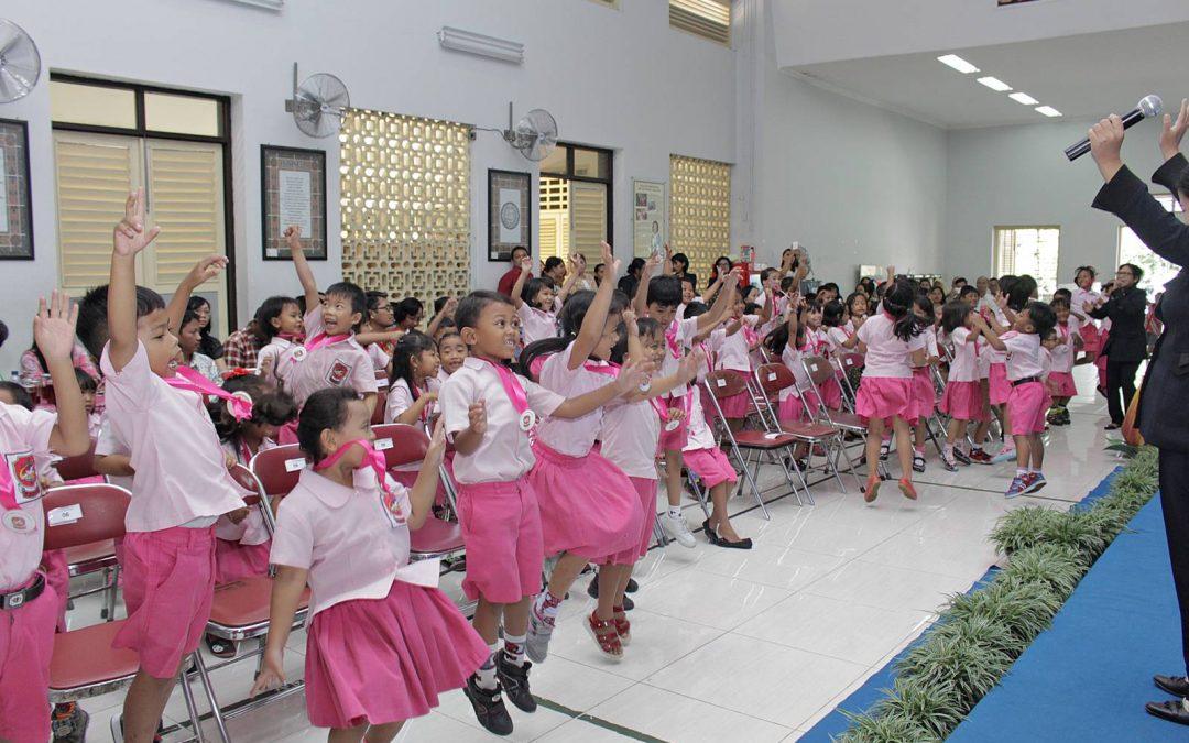 Pelepasan dan Tutup Tahun TK Kristen Kridawita