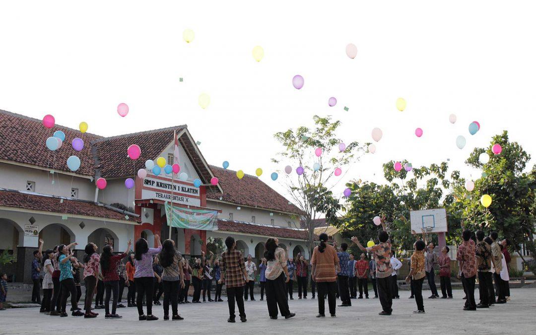Purna Siswa dan Tutup Tahun SMP Kristen 1 Klaten Tahun 2017