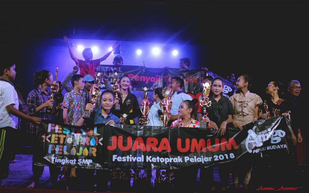 SMP Krista Gracia Klaten JUARA FKR 2018 disaksikan ribuan penonton