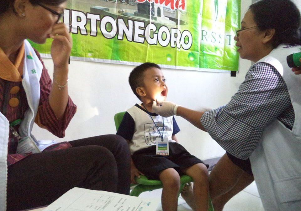 Pemeriksaan Kesehatan bersama RSST