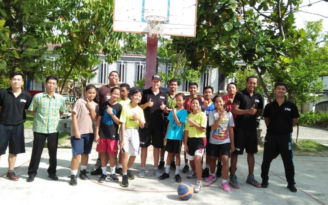 Kehadiran team JR. NBA Asia