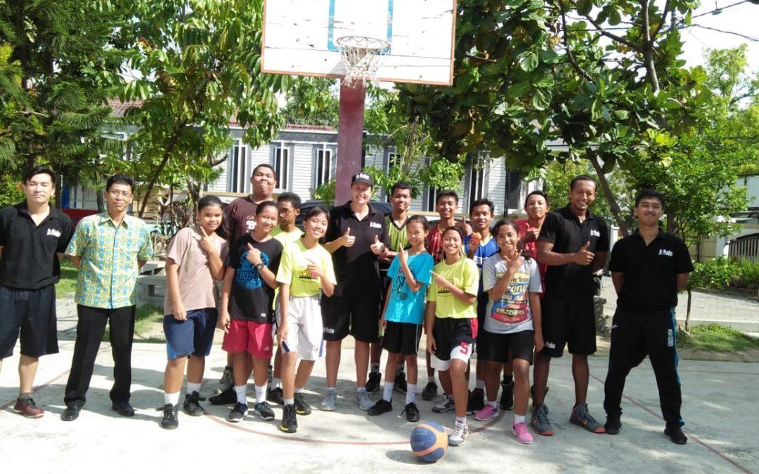 Kehadiran team JR. NBA Asia